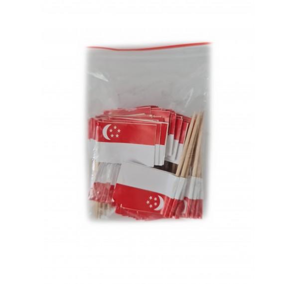Singapore Flag 100pcs