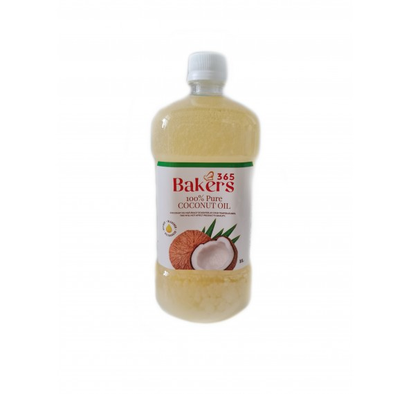 Bakers 365 Coconut Oil 1L