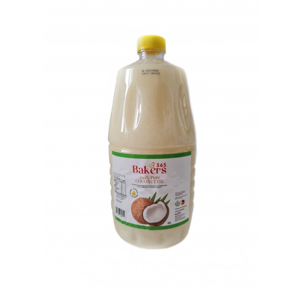 Bakers 365 Coconut Oil 3L