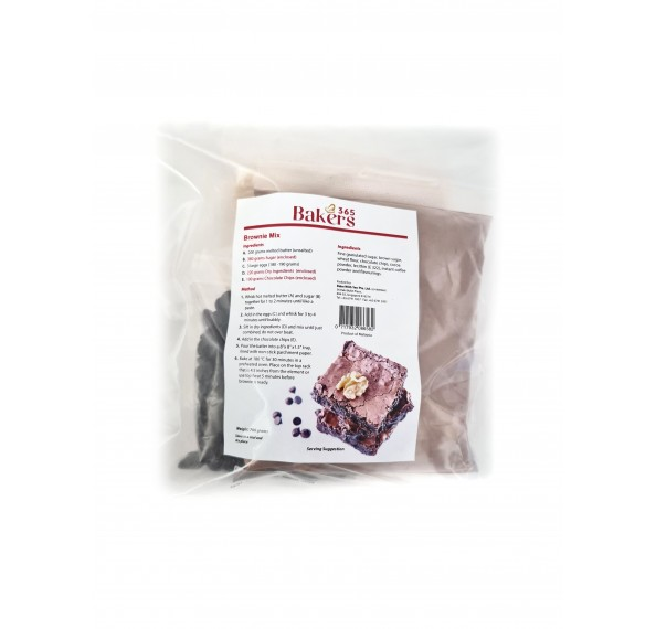 Bakers 365 Brownie Mix 590g