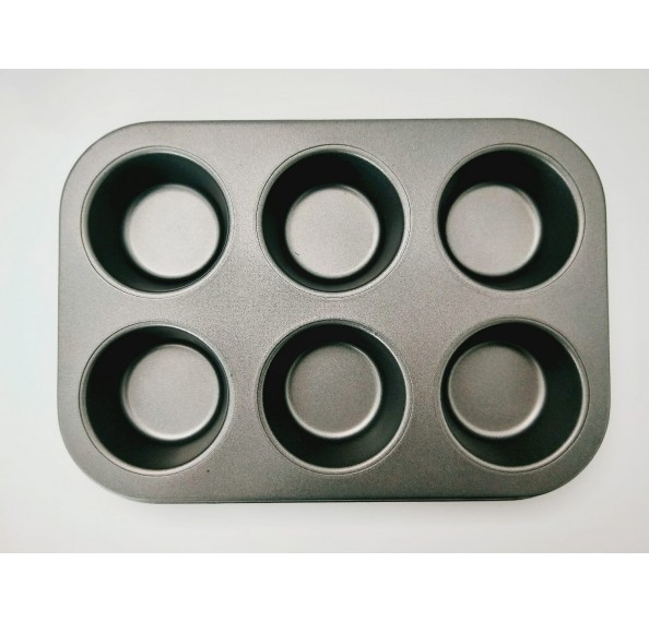 6 Cup Muffin Pan 26.5 X 18 X 3cm