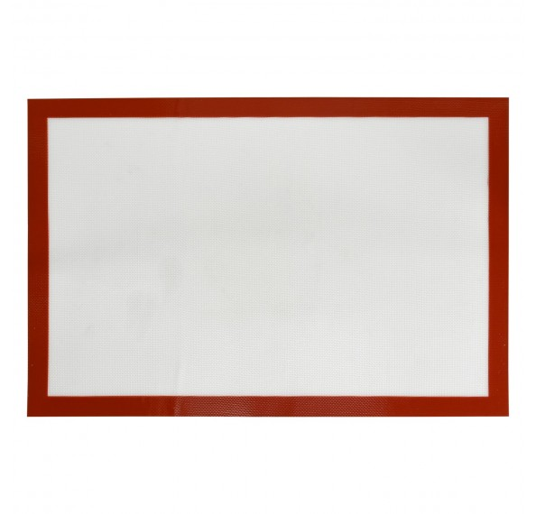60*40 Red Border Silicon Mat (Big)