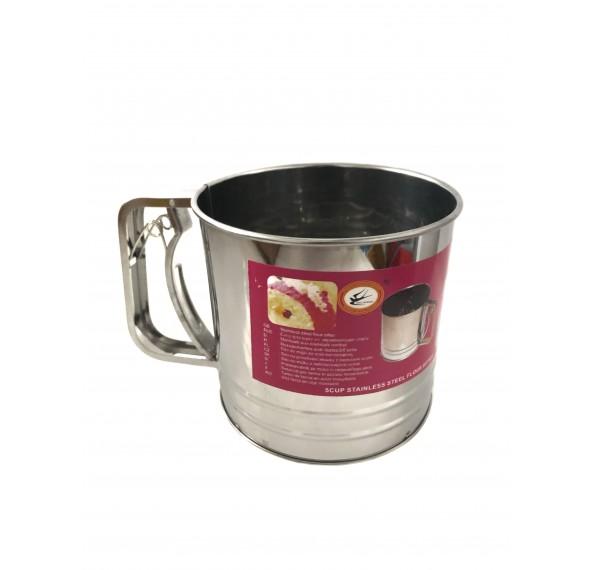 Flour Sifter S/Steel 5 Cup (YF515)