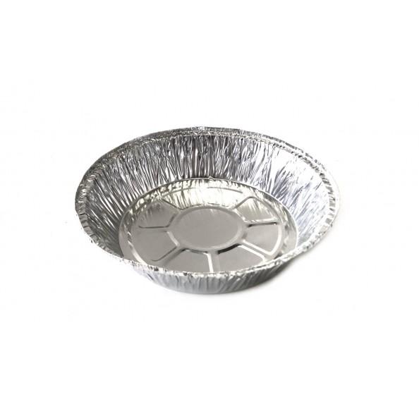 Aluminium Round Tray 125 - 25pcs