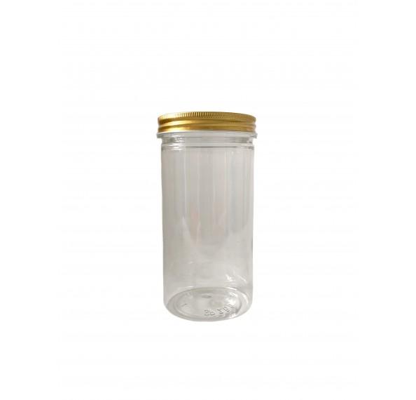 SP 260 Pet Jar Alum Gold Cap