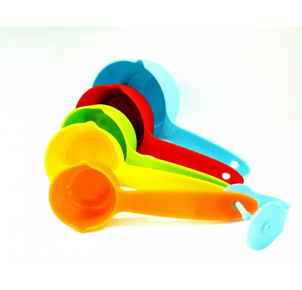 5 Pcs Colourful Measuring Cup