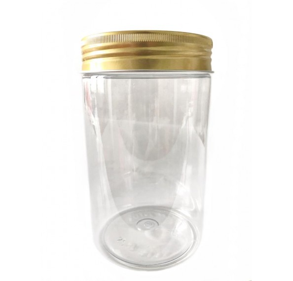 SP 8138 PET Jar Alum Gold Cap