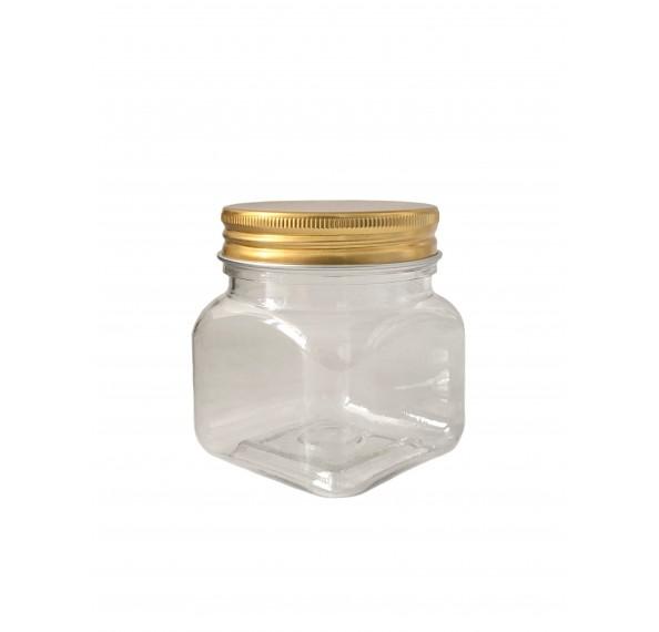 SP 336 Pet Jar Alum Gold Cap