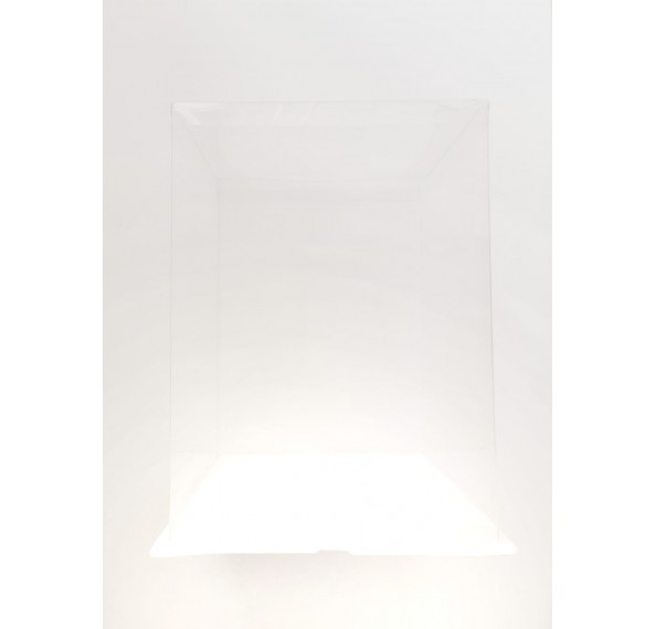 PET Base PVC T/P Box 26x26x35cm (Clear)