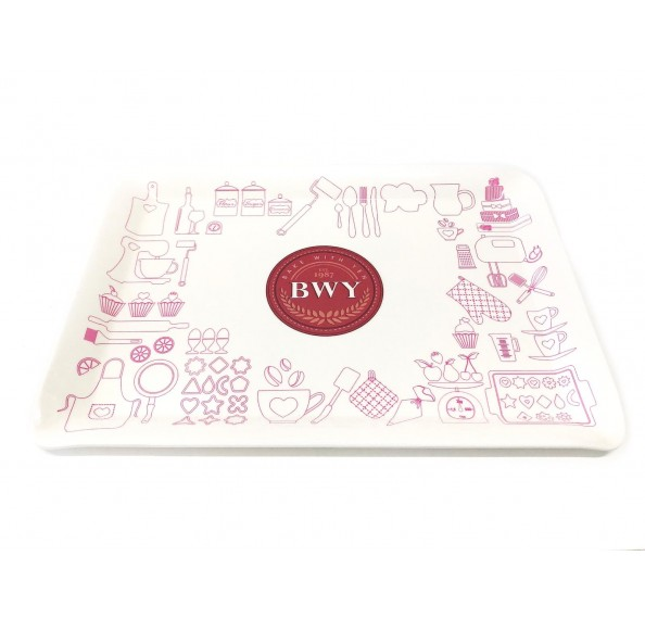 BWY Serving Tray 38x27cm (Pink)