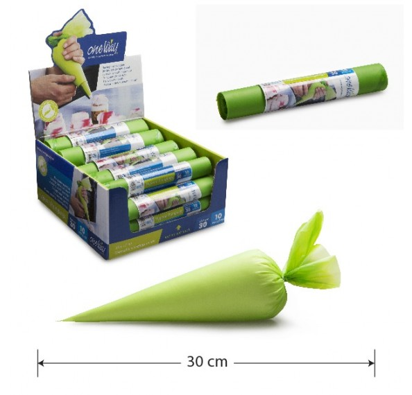 Comfort Green Piping Bag (30cm*17cm) 10pcs