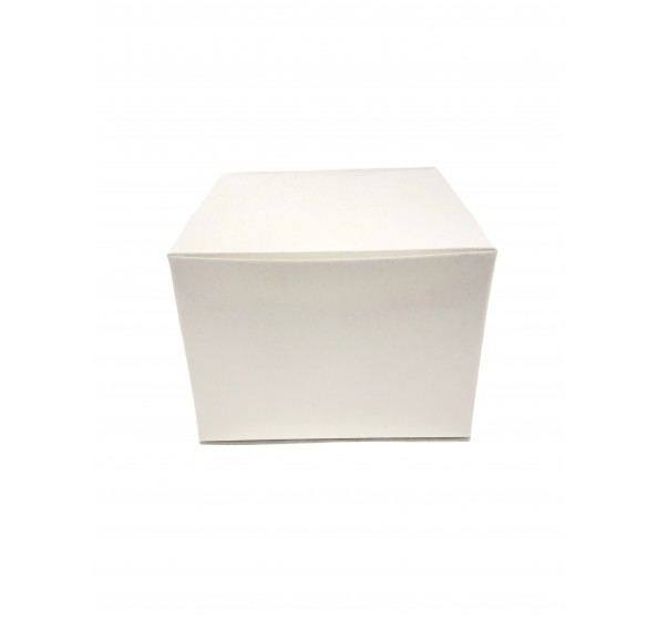"Plain Cake Box 7x7x3"" 5pcs"