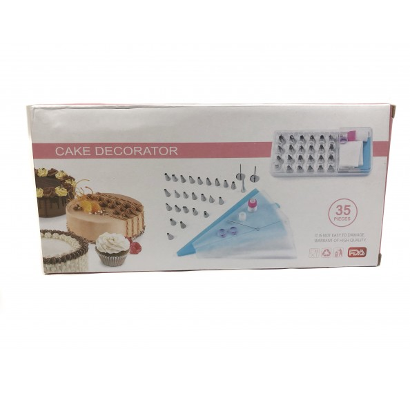 Cake Decorator 35pcs