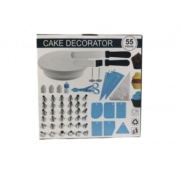Cake Decorator 55pcs