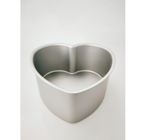 MY2646A Heart Shaped Cake Tin (6*3) Fixed Base