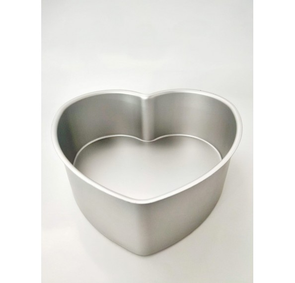 MY2648A Heart Shaped Cake Tin (8*3) Fixed Base