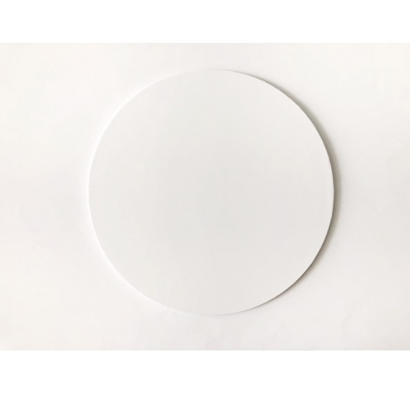 "Cake Board Round Shaped 12"" (White)"