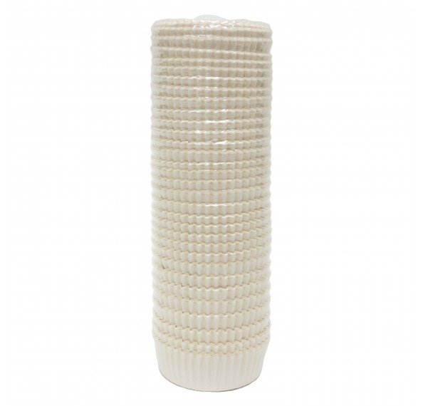 14CM Oilproof Paper Cup White 1000PCS