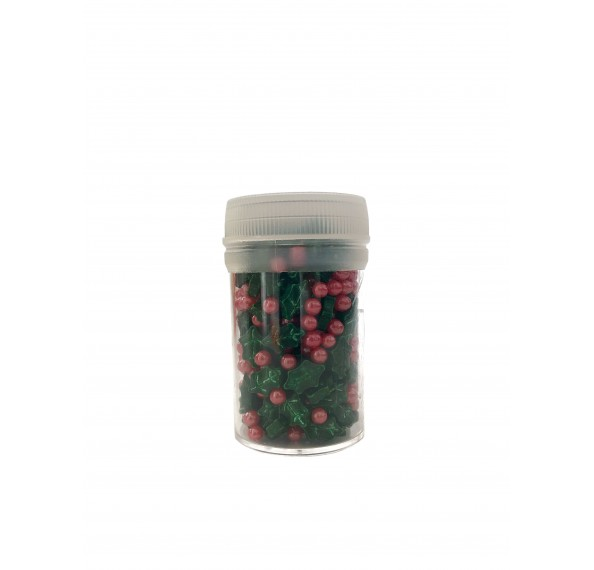 Cherries With Holly 3.5mm 40g