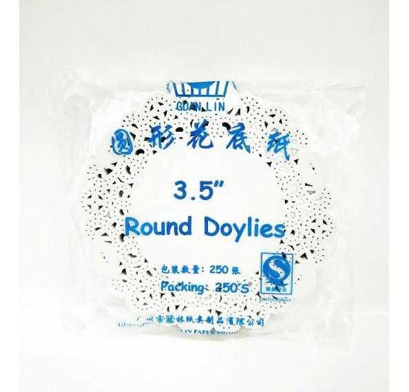 """Paper Doilies 3.5"""" 250PCS"""