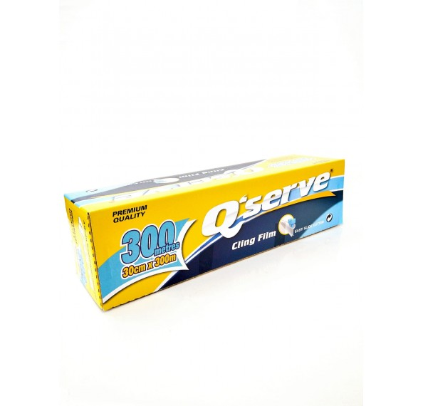 Q'Serve Cling Wrap 45CM X 300M