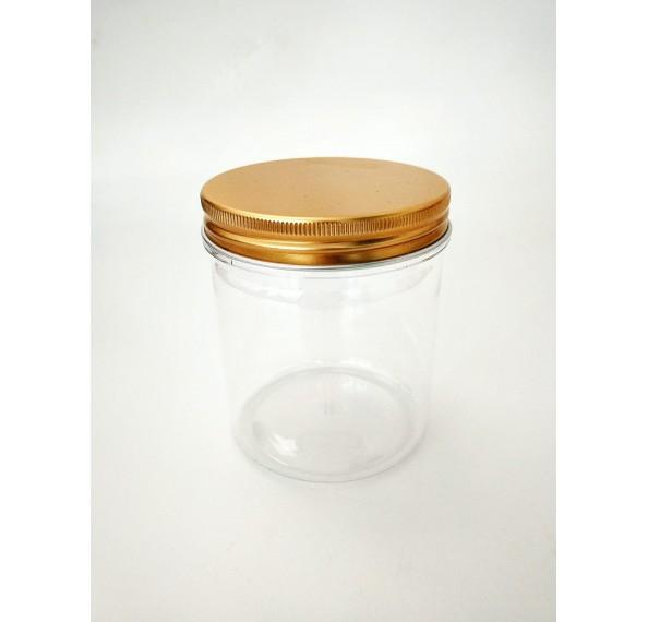 SP 230 Pet Jar Alum Gold Cap