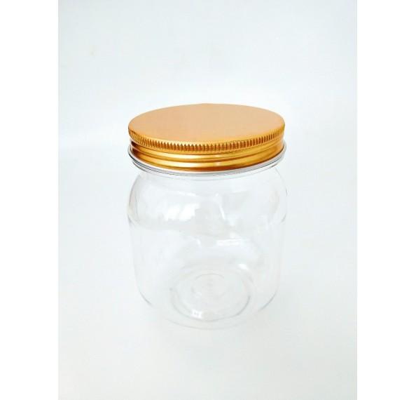 SP 255 Pet Jar Alum Gold Cap