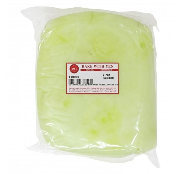 Cottura Rolled Fondant Pastel Green 1KG