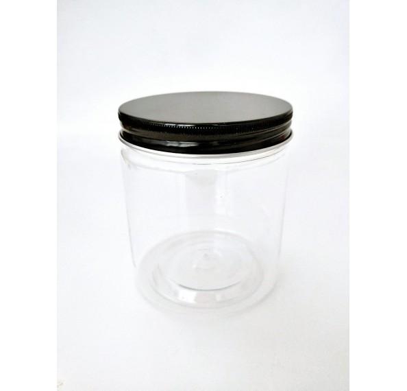 SP 8073 PET Jar Alum Black Cap