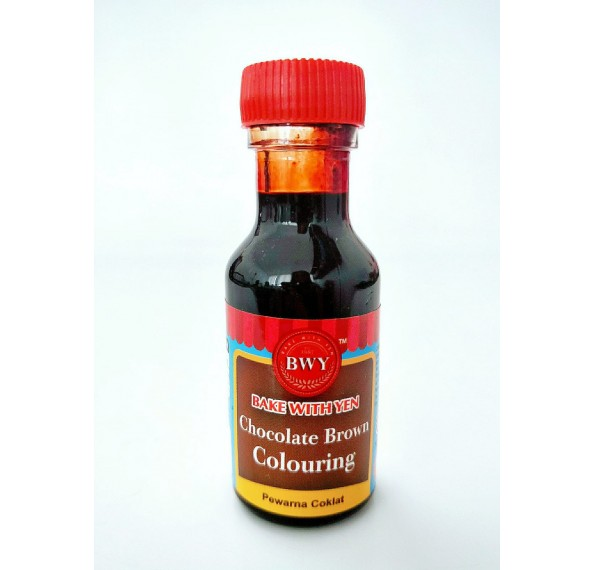 BWY Brown Colouring 25ML