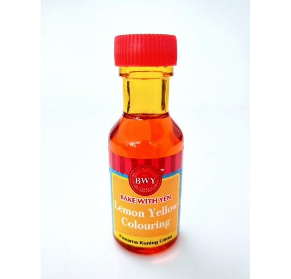BWY Lemon Yellow Colour 25ML