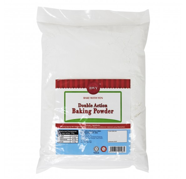 BWY Double Action Baking Powder 1kg