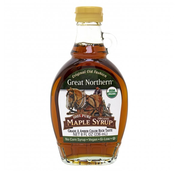 Organic Pure Maple Syrup (Grade A) 236ML