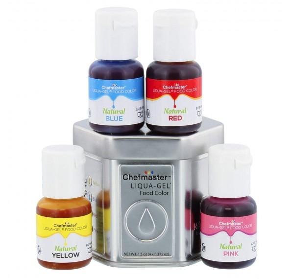 CM Natural Liqua Gel Kit 4 Color 10ml