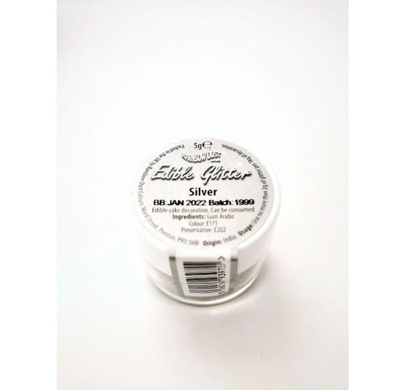 Edible Silver Glitter 5G