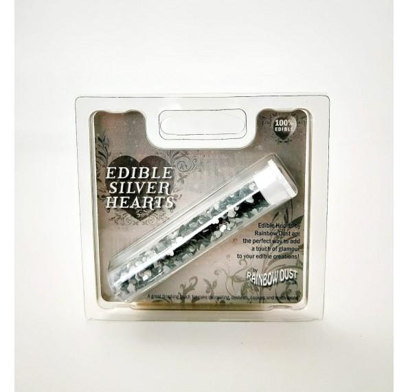 Metallic Hearts Silver 2G