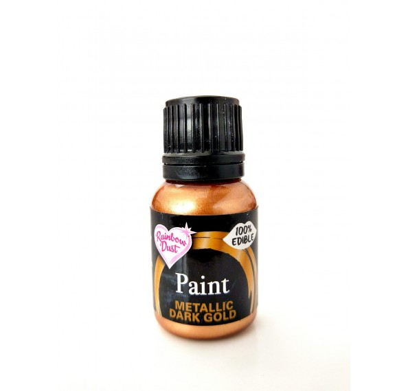 Paint Metallic Dark Gold 25G