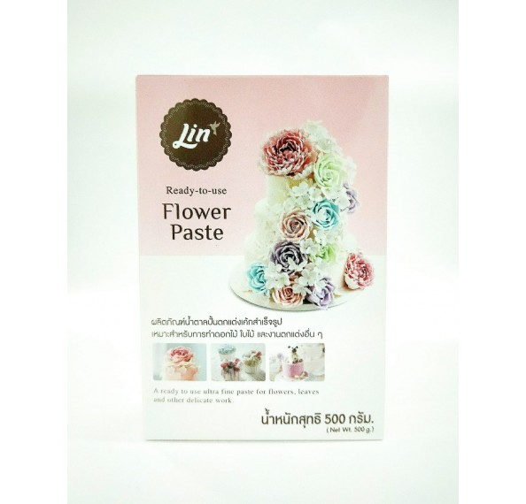 LIN Flower Paste White 500G