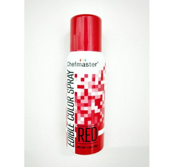 CM 1.5OZ Edible Red Spray