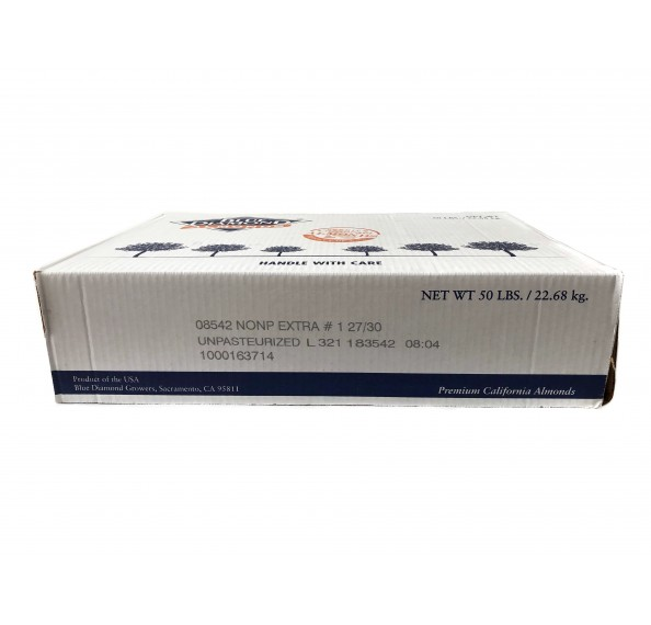 Almond Wholeshelled 25/27 USA 22.68kg