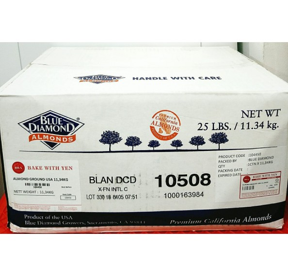 Almond Ground Extra Fine USA 11.34kg