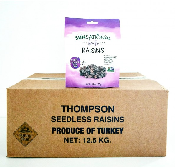 Black Raisin Turkey 12.5kg