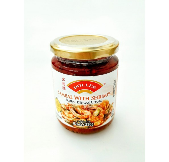 Dollee Sambal With Shrimps 230G