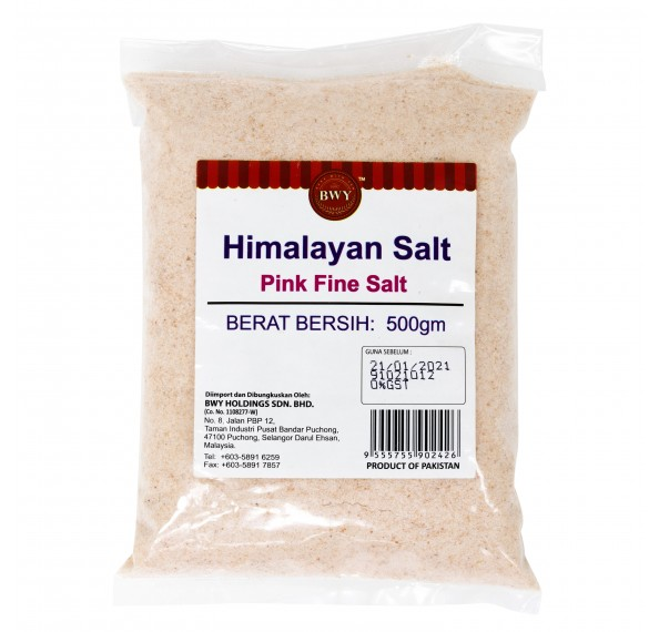 Himalayan Salt Pink Fine 500G