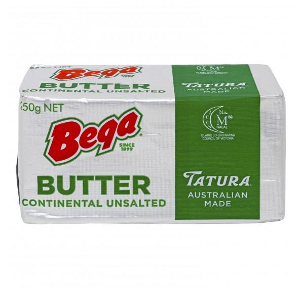 Bega Tatura Butter Unsalted 250G