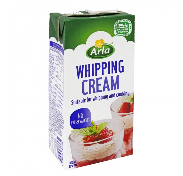 Arla Whipping Cream 1L
