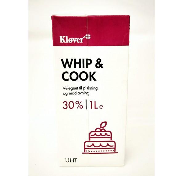 Klover Whip & Cook 30% 1L