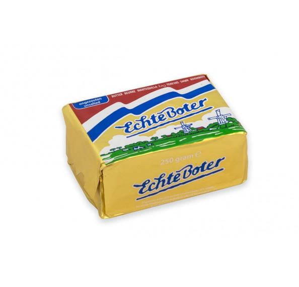 Echte Boter Unsalted Butter 250g