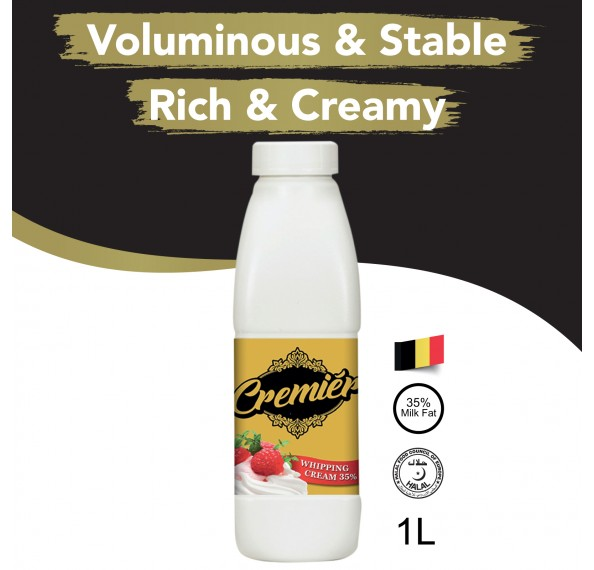 Cremier Whipping Cream 35% 1L