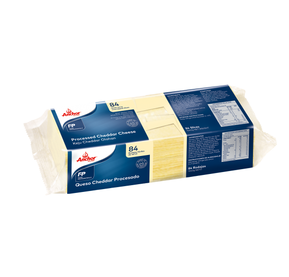 Anchor Processed Cheese (Pale) 84's 1kg